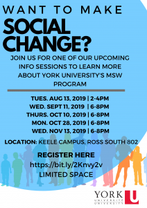 Want to Make Social Change? @ South Ross 802