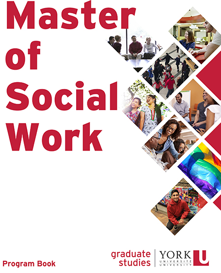 image of the cover of the 2020 School of Social Work lookbook